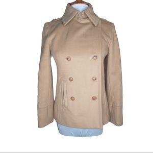 J. Crew Double Breasted Wool Coat